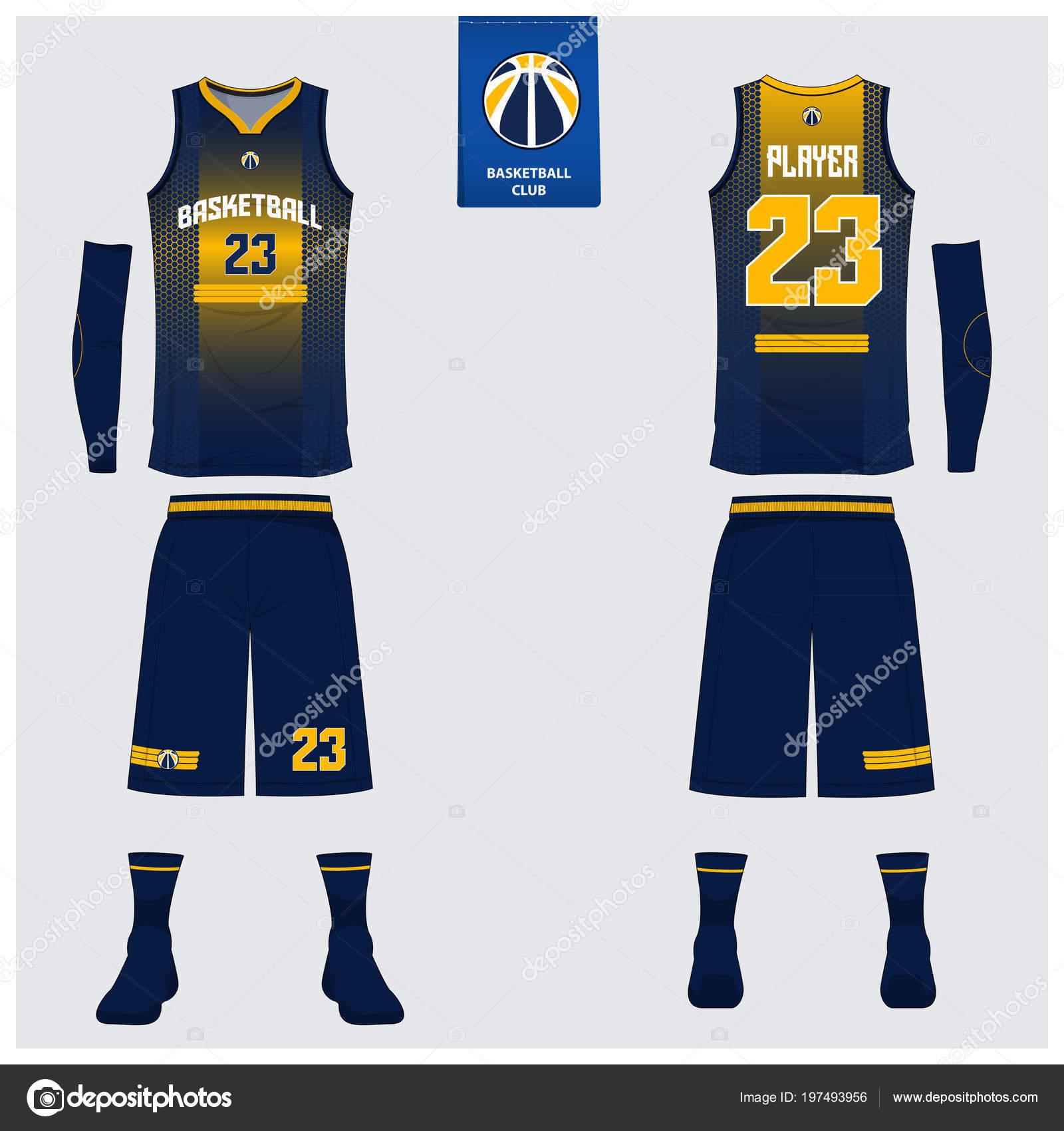 basketball jersey sport uniform template design basketball club