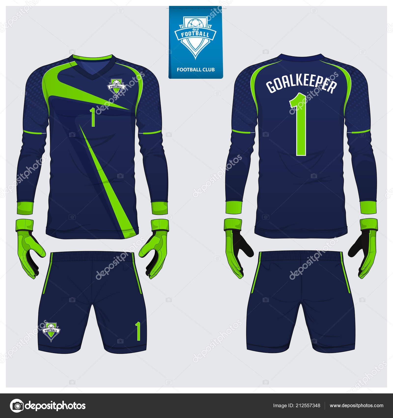 Goal Keeper Jersey A Maniche Lunghe//Portiere Jersey Shirt CALCIO SPORT