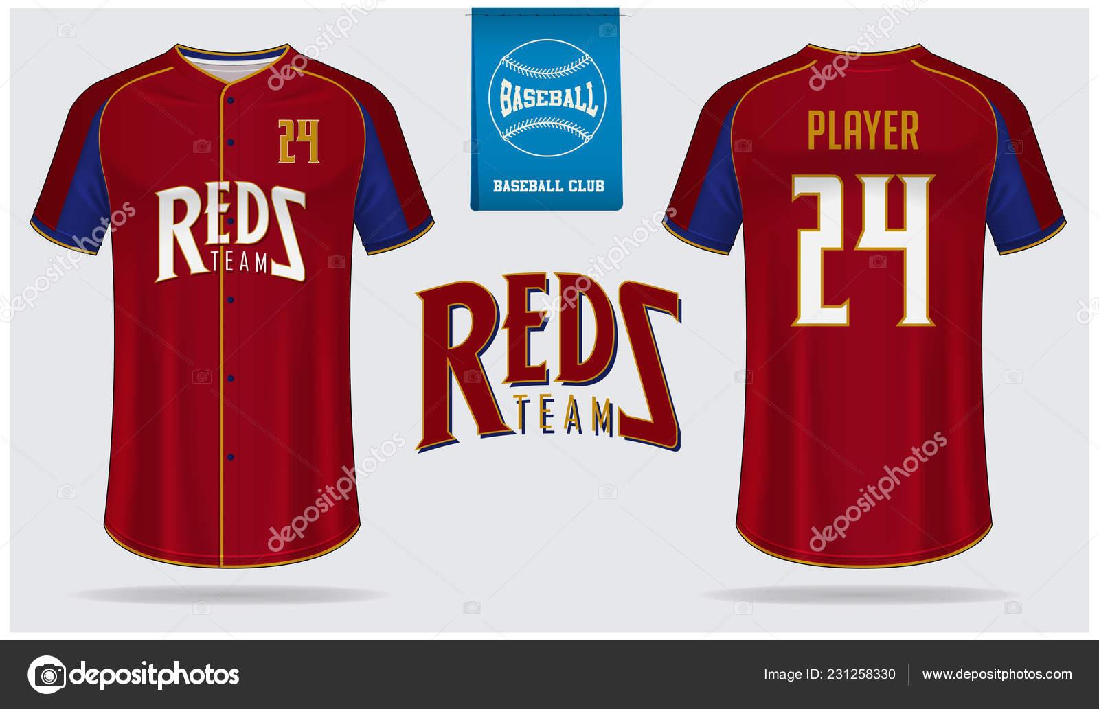 adfd46811ef Baseball Jersey Sport Uniform Raglan Shirt Sport Template Design Baseball– stock  illustration