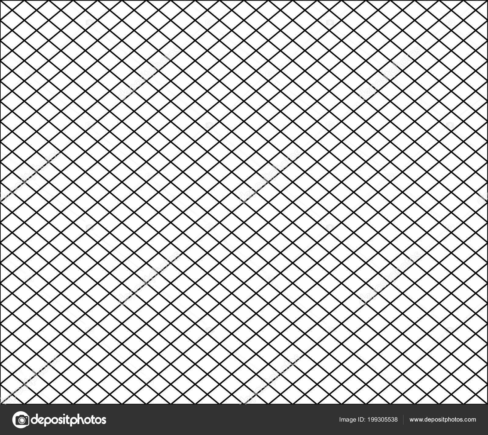 Seamless Net Texture Pattern Black Squares White ...