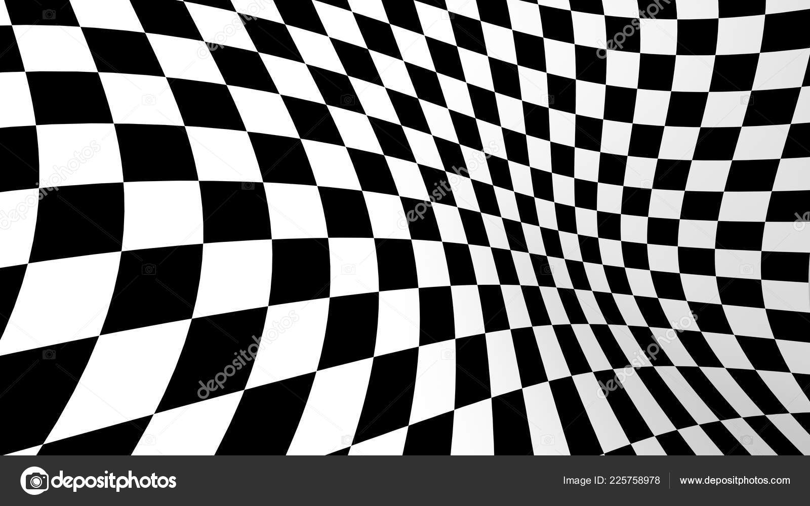 Black White Abstract Wallpaper Checkered Abstract Wallpaper