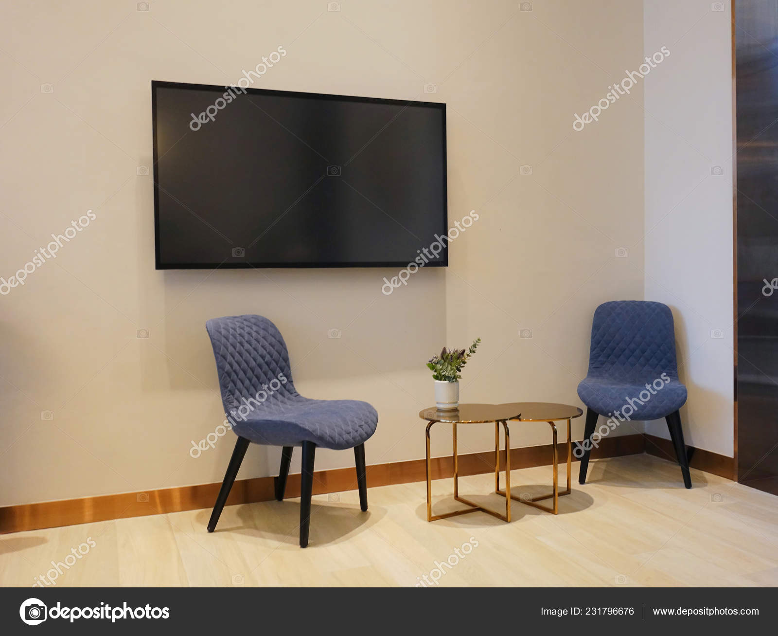 Pictures Living Room Chairs Luxury Modern Living Room Chairs Table Blank Screen Sofa Decoration Stock Photo C Tampatra Hotmail Com 231796676