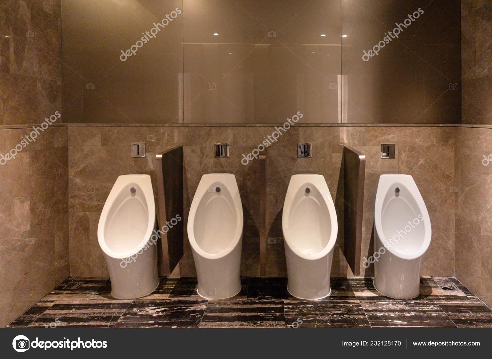 Row Modern Urinals Men Public Toilet Room Public Toilet Restroom Stock Photo C Tampatra Hotmail Com 232128170