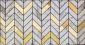 Fényképek Fehér márvány csempe arany anyag minta felületstruktúra keverve. Közeli kép a háttérnyomtatás dekoráció belső anyag
