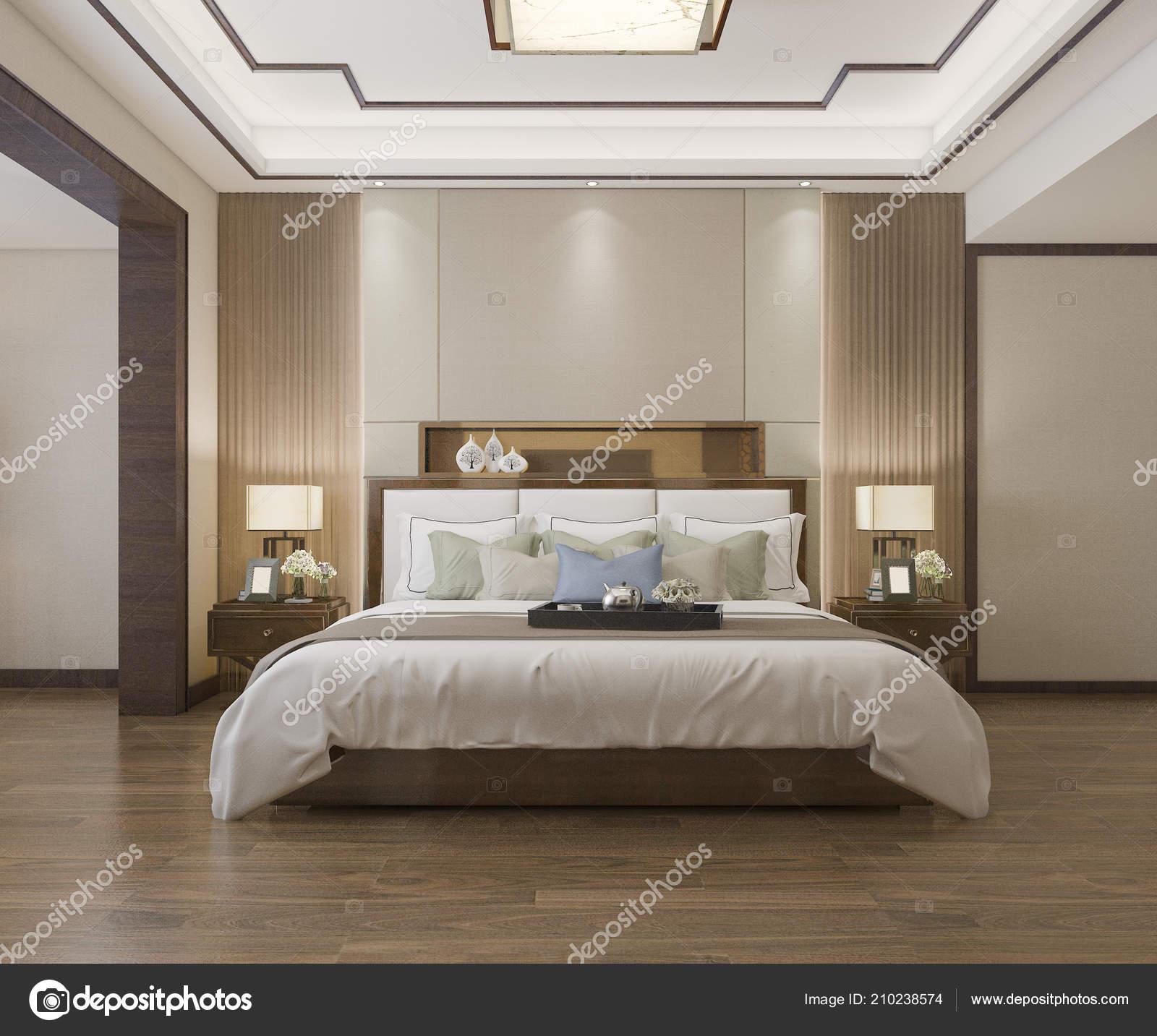 Rendu Suite Chambre Chinoise Magnifique Hôtel Dans Hôtel Avec ...