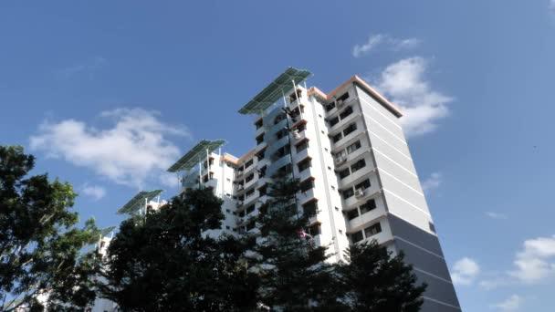 Pohled na město Bedok v Singapuru, Asie