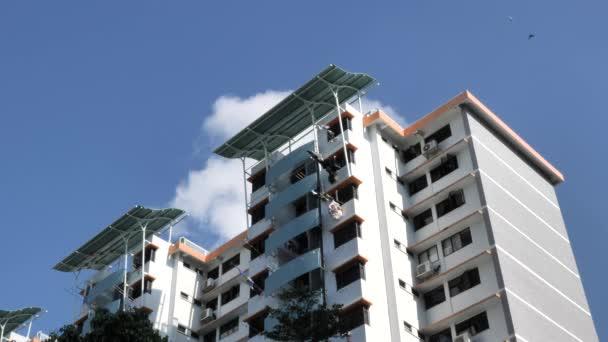 Blick auf die Stadt Bedok in Singapore, Asien