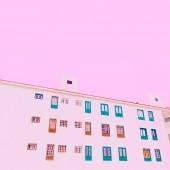 Fényképek Minimális építkezési pasztell színű art. Minimális vibes