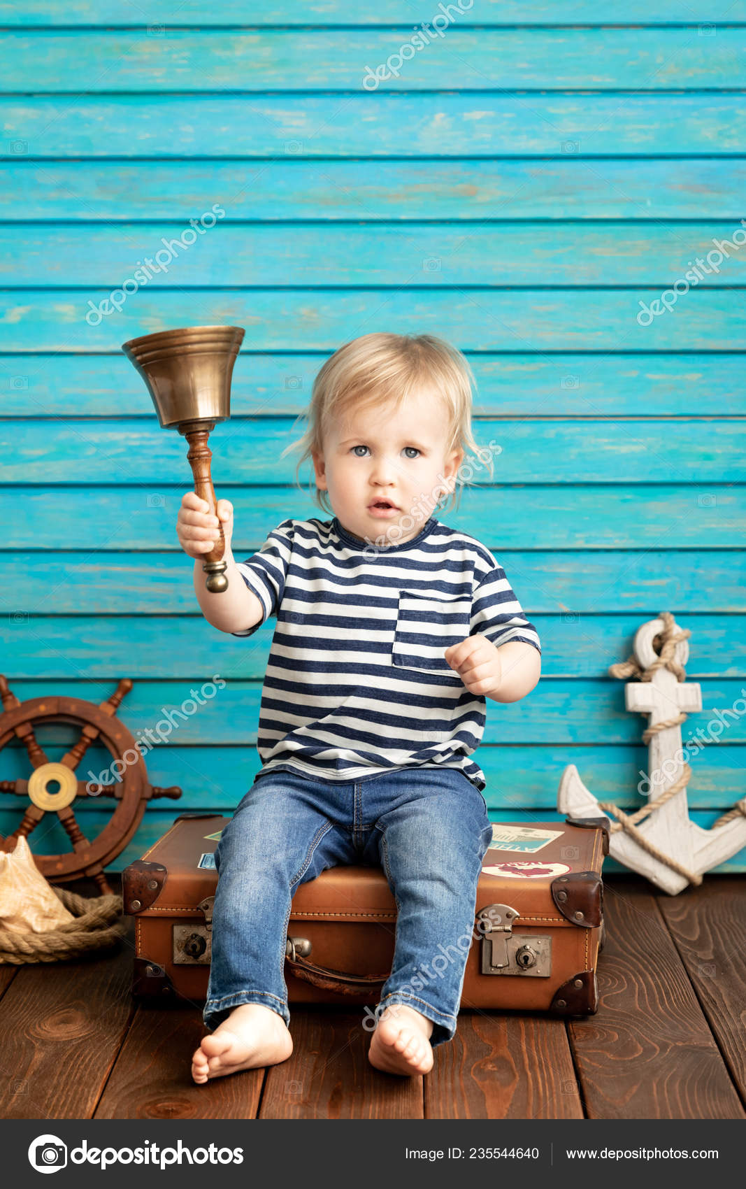 VÌ SAO NHO ? ......HÁT  - Page 5 Depositphotos_235544640-stock-photo-happy-toddler-holding-bell-playing