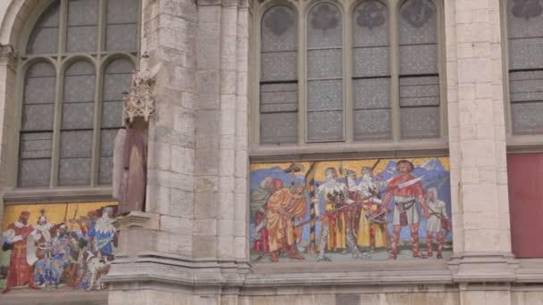 Building Fresco Facade Swiss Museum