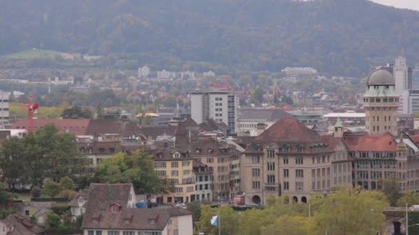 Panorama Curychu panoráma města