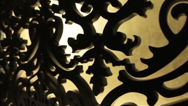 dřevěné vyřezávané vzor