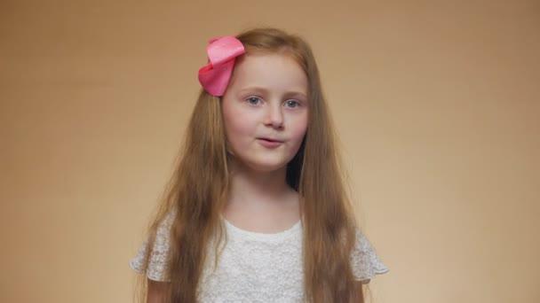 Little Girl Singer Portrait