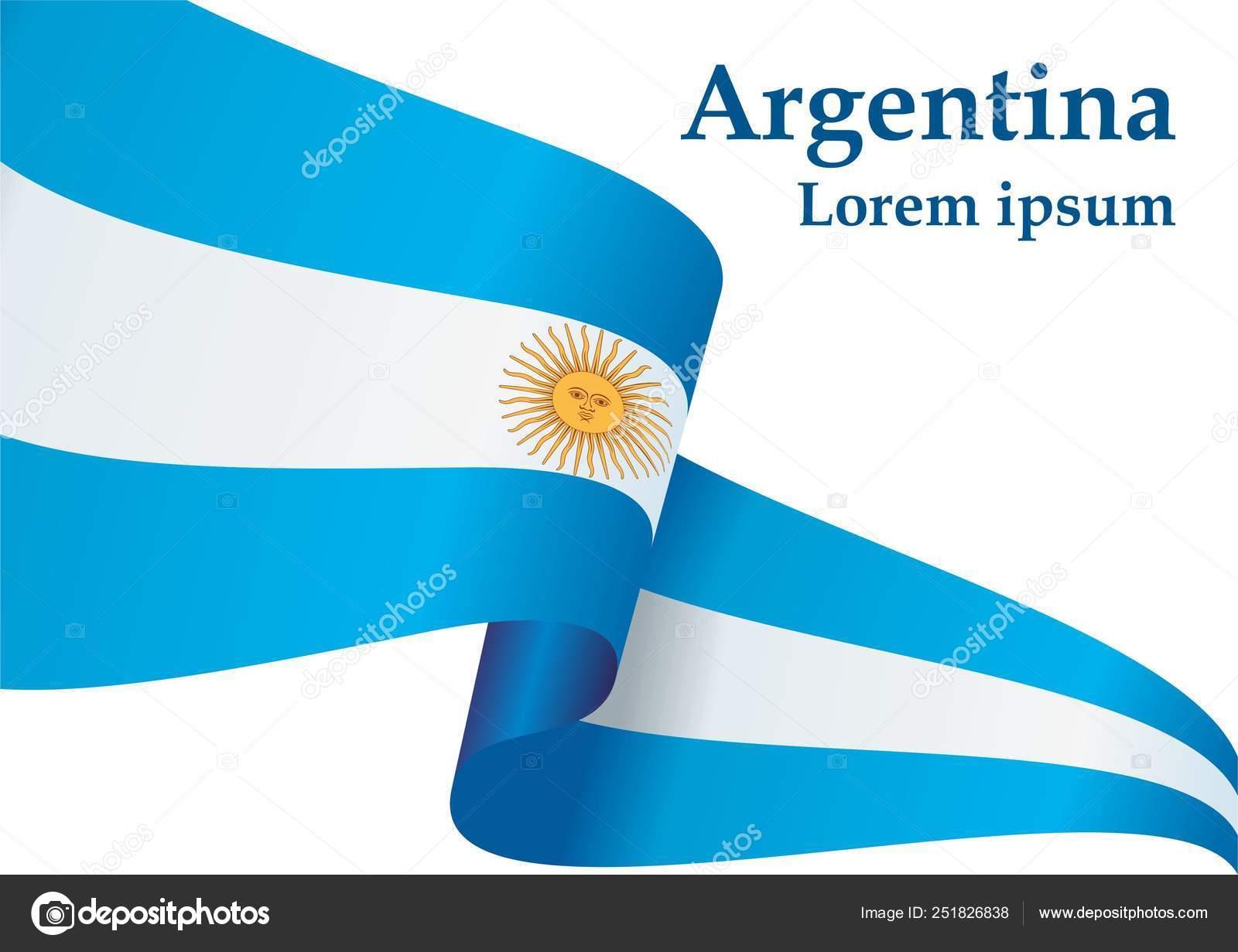 Bandeira Argentina República Argentina Modelo Design Prêmio