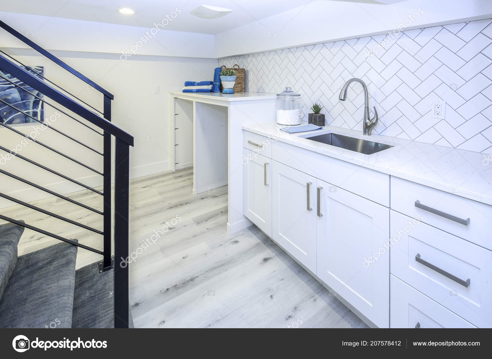 Prime Basement Laundry Room Interior Sink White Cabinets Stock Interior Design Ideas Gentotryabchikinfo
