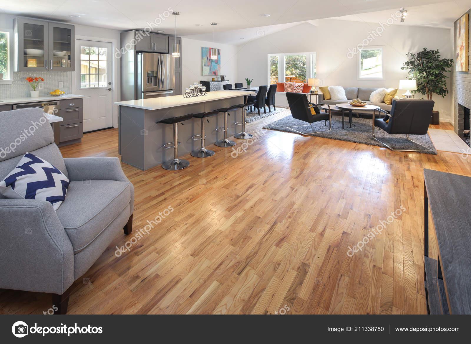 Peachy Modern Interior Design Open Floor Plan White Dining Table Creativecarmelina Interior Chair Design Creativecarmelinacom