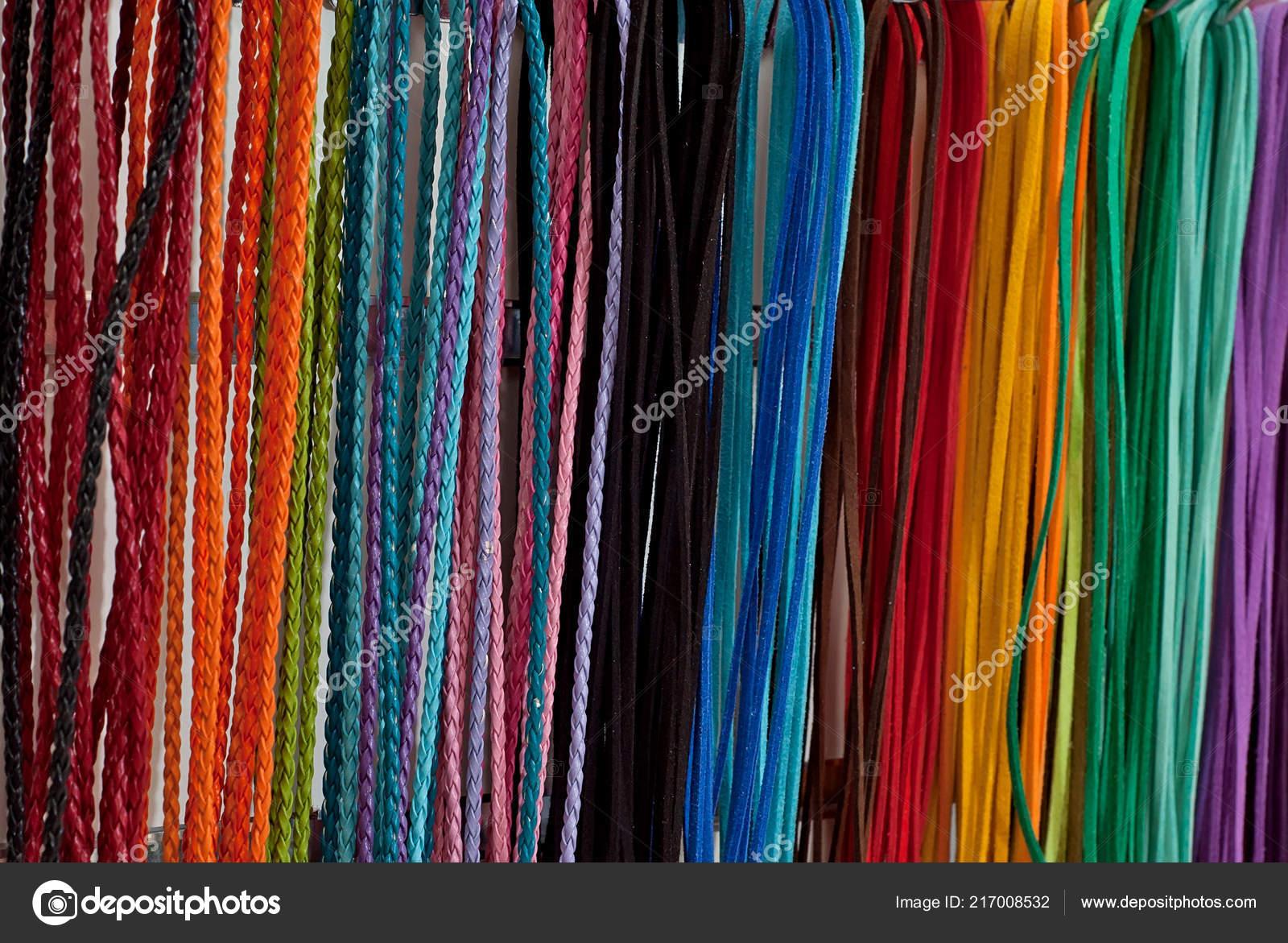 mirada detallada d4aaf fa090 Visualización Cordones Los Zapatos Colores Brillantes Una ...