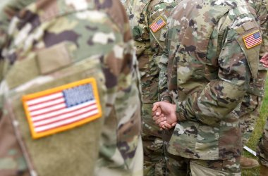 US army uniform patch flag. US Army