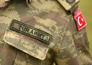 Turkish army uniform. Turkey troops