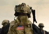 Fotografie  uns Soldaten Ausrüstung. uns Armee. uns Militäruniform. uns Truppen.