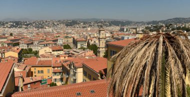 Cityscape of Nice, France. Panorama of the Nice.