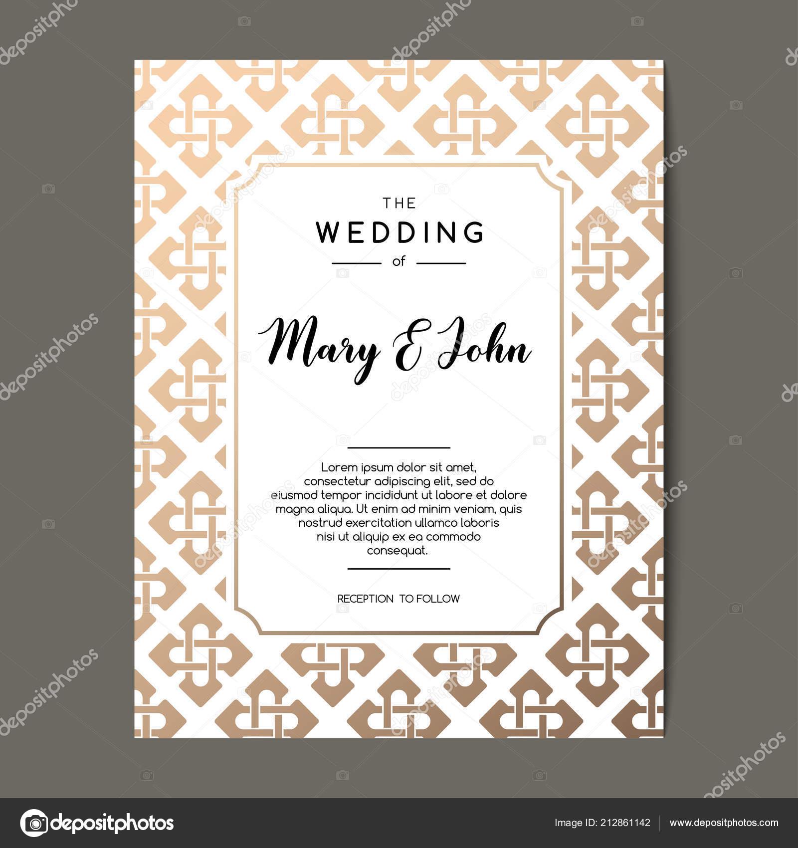 Celtic Wedding Invitation Templates Elegant Wedding