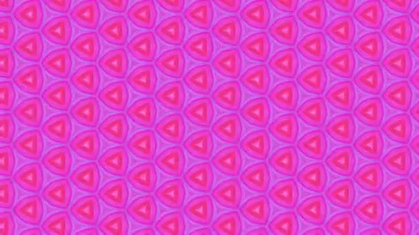 geometrische ornamentale Animation. abstrakter Hintergrund für Motion Design, Mapping, Vj Show.