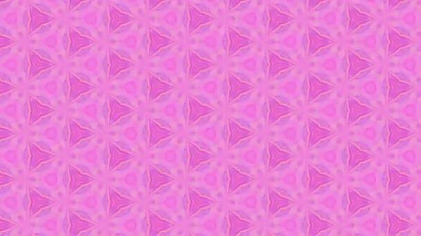geloopte geometrische ornamentale Animation. abstrakter Hintergrund für Motion Design, Mapping, Vj Show.