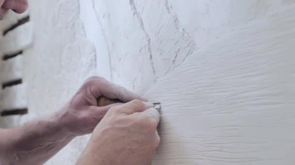 tvorba dekorativních panelů na stěně