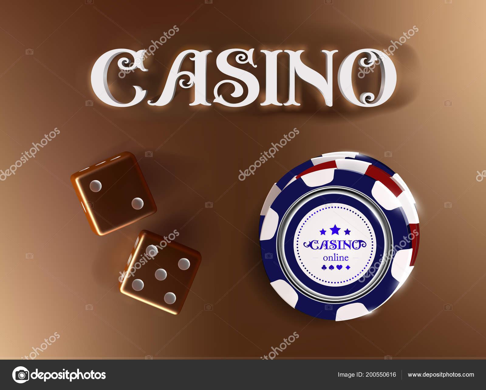 Fond doré casino