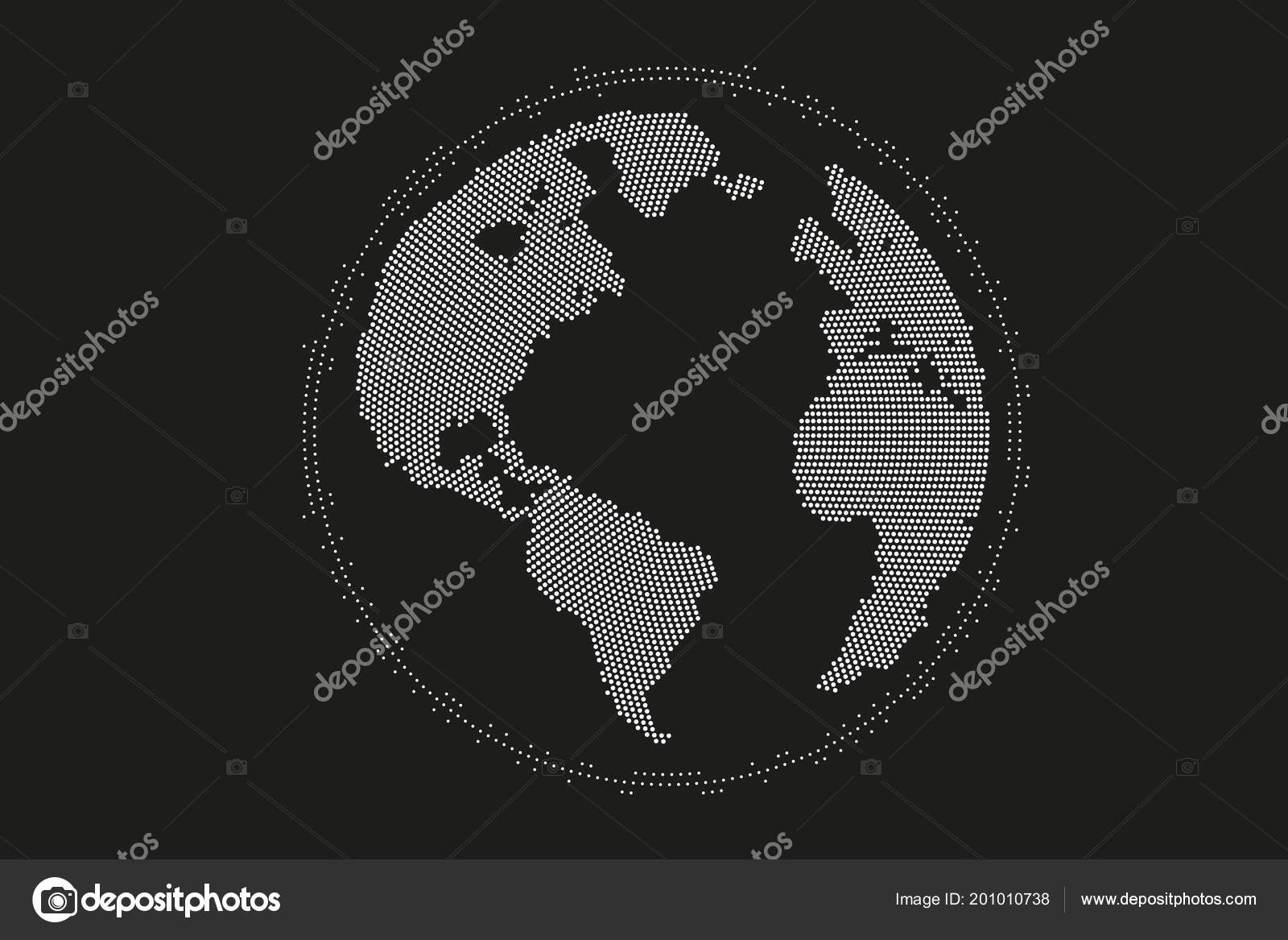 World map point, line, composition, representing the global, Global