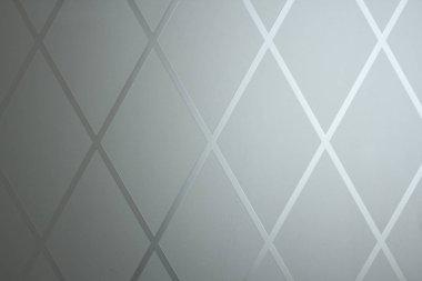 Rhombus background. Gray geometric background of rhombuses and g