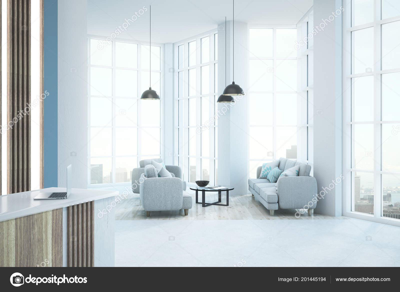 office lobby designs interior modern white office lobby interior city view daylight furniture mock stock photo