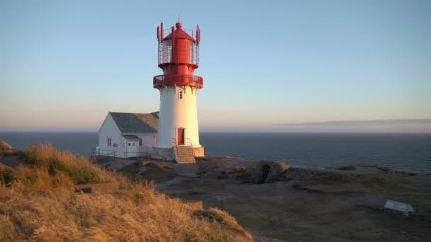 Alten Lindesnes Leuchtturm Lindesnes Fyr ist eine Küste Leuchtturm am südlichsten Punkt von Norwegen.