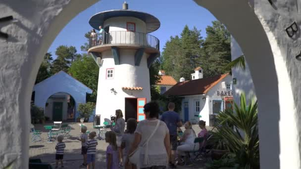 The amusment Cardamom Town is based on the book of childrens writer Egner Thorbjorn.