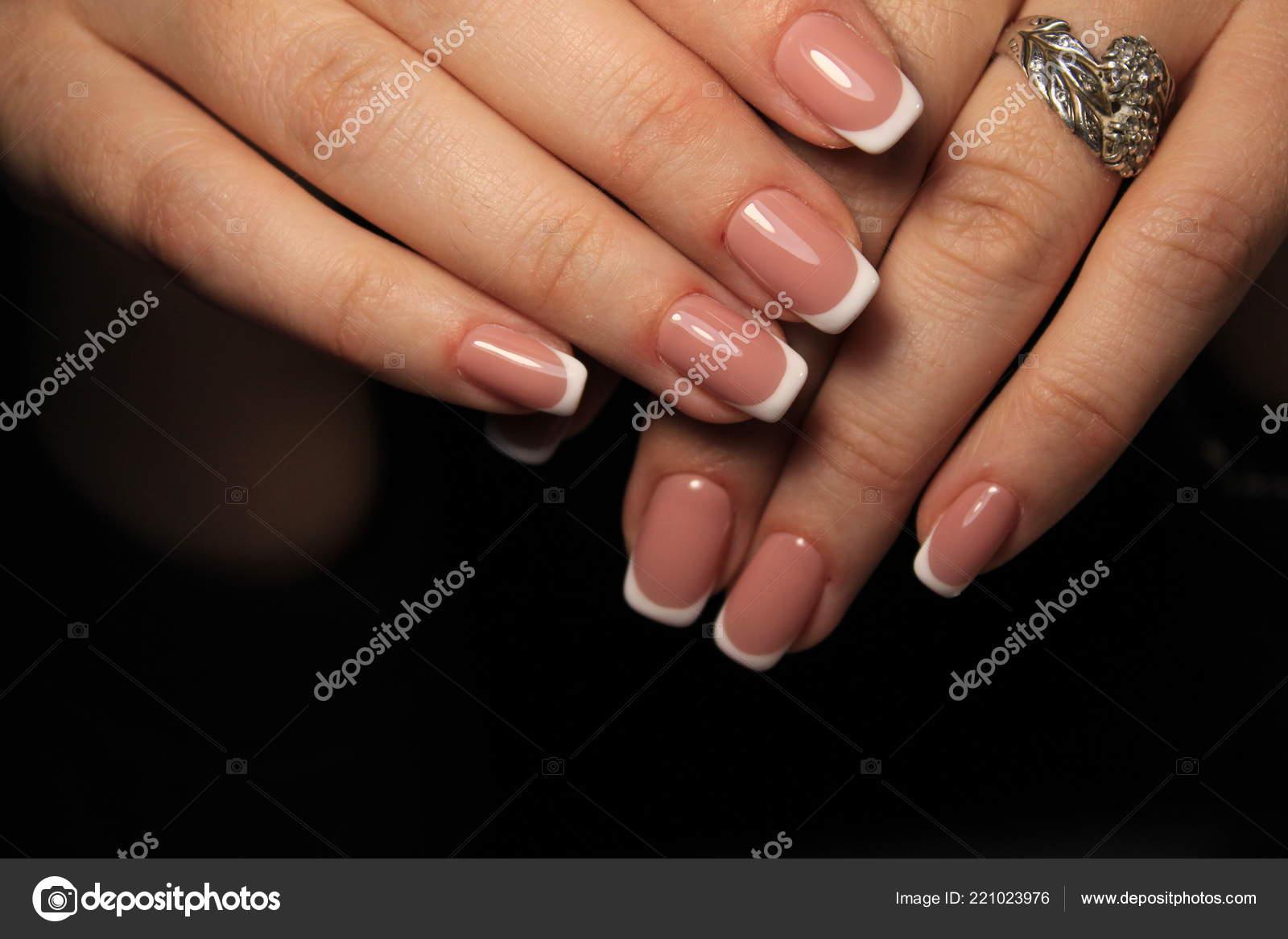 Perfect Manicure Natural Nails Attractive Modern Nail Art