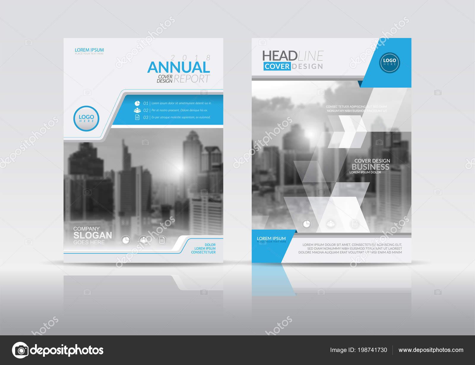 Design Vorlage Deckblatt Jahresbericht Flyer Präsentation Broschüre