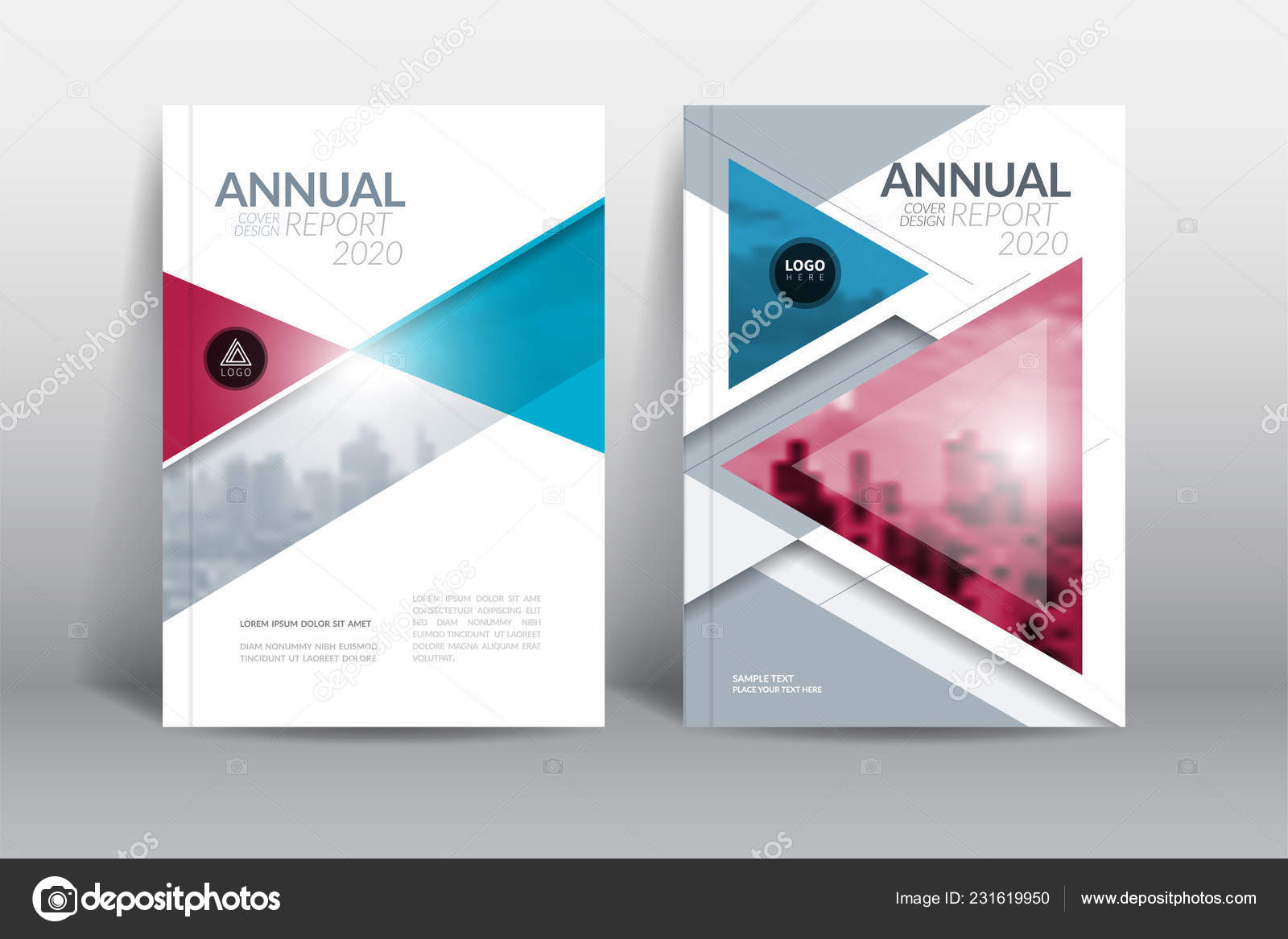 Cover Design Template Annual Report Cover Flyer Presentation
