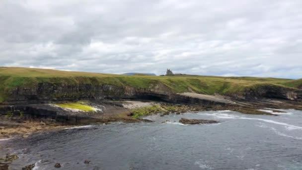 classiebawn castle ist ein Landhaus für Viscount Palmerston auf einem ehemals 10.000 Hektar großen Anwesen auf der Halbinsel Mullaghmore in der Nähe des Dorfes Cliffoney, County Sligo, Irland.
