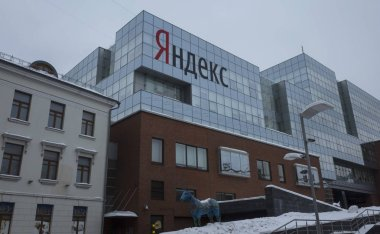 17 February 2018, Moscow, Russia. The office of the company Yandex.