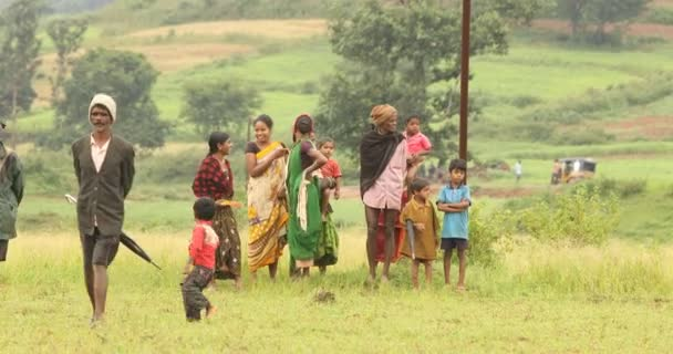 Tribal People at a fields 30th Jan 2019 Hyderabad India