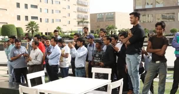 Lidé v nákupní centrum 30 Jan 2019, Hyderabad, Indie