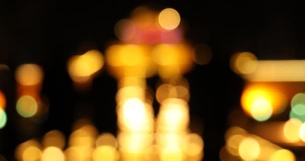 Abstract Blur lights texture