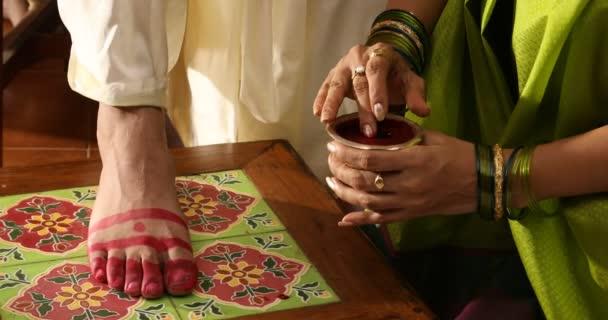 Hagyományos hindu esküvői ceremónia