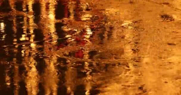 tükörképét a vízben