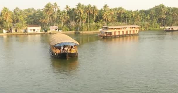 Touristisches Hausboot Kerala Indien
