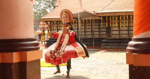 Traditional Folk Dancer Kerala India 30th Jan 2019