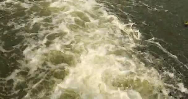 Folyó-on a víz hullámok