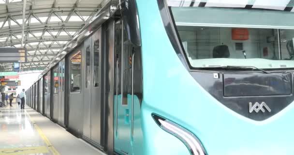 Metro Train station Cochin Kerala India 30th Jan 2019