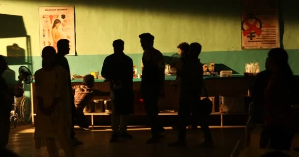 Silhouette of people in hospital 25th Jan 2019 Hyderabad India